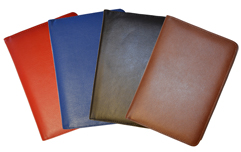 Red, Blue, Black, Brisith Tan Classic Refillable Leather Journals